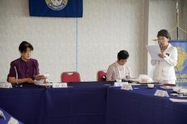 木口アワード委員長より神崎先生の紹介