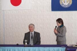 会長による竹内先生の紹介