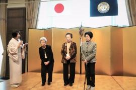 卒寿と米寿を迎える会員のお祝い