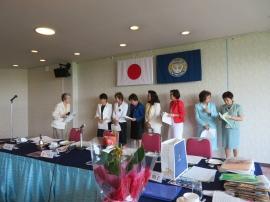 渡辺指名委員長と新役員
