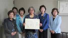 森 教頭、SI岡山 中原会長と会員