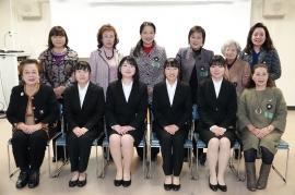 ノートルダム清心女子大学シグマソサエティの学生さんとSI岡山の参加メンバー