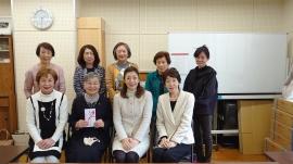 西崎宏美氏、SI岡山逢沢会長と理事会役員