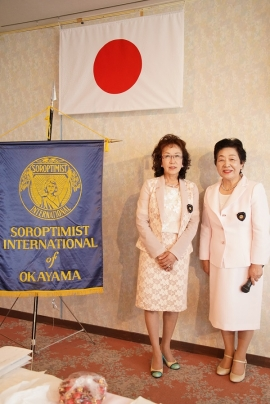 香川新会員と横田会長